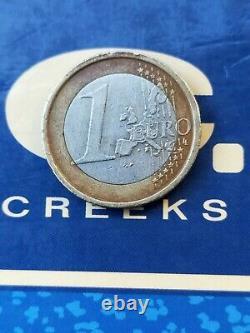 Piece fauté de 1 euro très très rare italien
