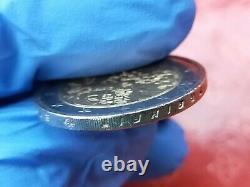 Pièce très rare de 2 euro mûr du Berlin Allemagne fauté