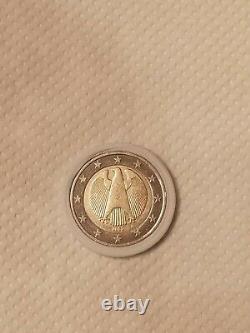 Piece très très rares de 2 euros allemand 2002 aigle fédérale