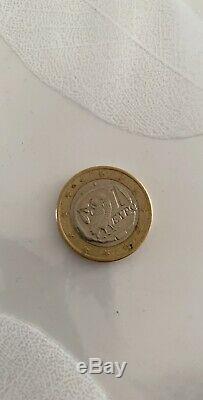 Pieces de 1 Euros EYPQ Tres Rare