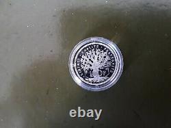 Piedfort 100 Francs Argent Panthéon 1988 Belle Épreuve Très Rare 100 Ex garantie