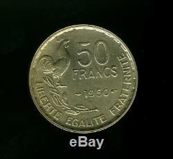 Qualite Collection Tres Rare Et Tres Belle 50 Francs Guiraud 1950
