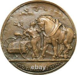 R1997 Très Rare Médaille SFAM Sans Peine Au jour la vie Corbin 1950 N°48 SUP