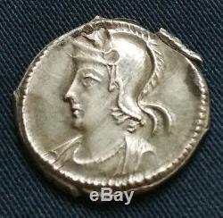 RRR! Très rare demie silique serie Commémorative Roma (ex Roma) 2ex connus