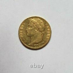 Rare et très belle pièce de 20 francs or 1815 A Napoleon I Cent jours qualité