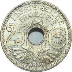 S7903 Très Rare 25 Centimes Essai 1938 en relief PCGS SP66 FDC Faire Offre