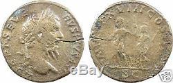 Septime Sévère, sesterce, Rome, 210, TRES RARE 19