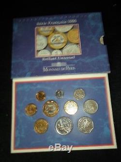 Serie Bu France 1996 Tres Rare Cote Infos 1250 Euros