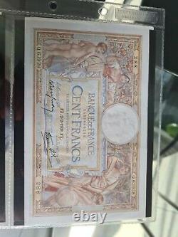 Suite Billet 100 Francs Merson 2-2-1939 Tres Rare Dans L'état