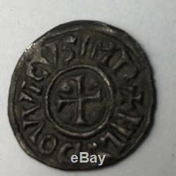 Superbe denier de Louis le pieux Atelier Toulouse très rare France 814-840