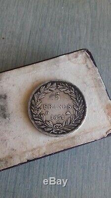 TRES BELLE 5 FRANCS LOUIS PHILIPPE Ier 1831 D ASSEZ RARE