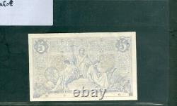 TRÈS RARE BILLET DE 5F NOIR DU 19/5/1873 en SUP