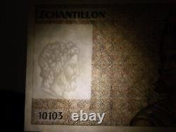 (TRES RARE) LIASSE de billets de Banque spécimen échantillons (TRES RARE)