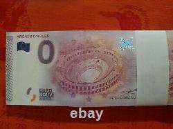 TRES RARE Liasse BILLETS TOURISTIQUES SOUVENIRS 0 EURO N°00002 à 000100! 2015