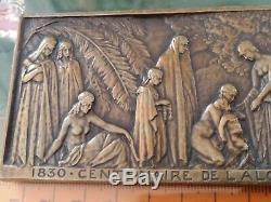 TRÈS RARE MÉDAILLE lot CENTENAIRE DE L'ALGÉRIE 1830 1930 DE G. BEGUET