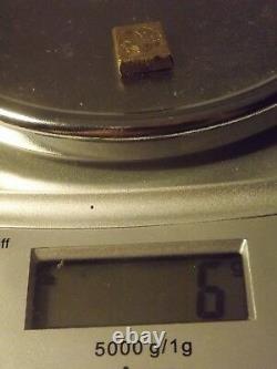 TRES RARE Poids Monétaire lys XVIII laiton bronze superbe état 6 gr faire offre