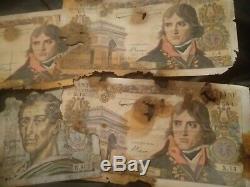 TRES RARESérie H. 402 MONTESQUIEU 15 exemplaires connu, 3 BONAPARTE trés abimés