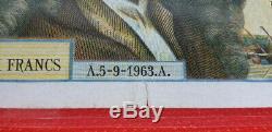 Très RARE! Billet 500 Nouveaux Francs MOLIERE F60 A 5/9/1963 A ALPH Y11 (TTB)