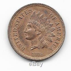 Très RARE One Cent 1872 United States'Indian Head' superbe ++ à voir