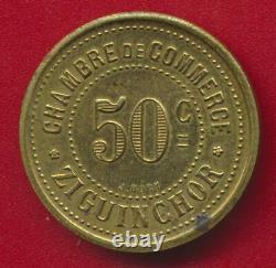 Tres Rare 50 Centimes Ziguinchor 1921