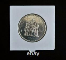 Très Rare 50 Francs Hercule De 1980 Fleur de coin