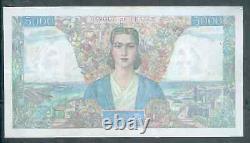 Très Rare 5000f Empire Du 28/9/1944 Ttb