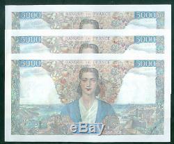 Très Rare 5000f Empire Du 5/7/45 Spl