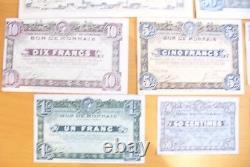 Tres Rare Ancienne Série Complète Bon De Monnaie Roubaix-tourcoing Sup/spl