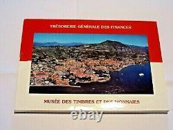 Tres Rare / Belle Serie 1ct A 2 Euro / Monaco Bu / Serie Euro 2001 /envoi Assure