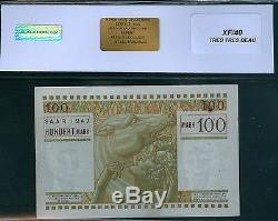 Très Rare Billet De 100 Mark 1947