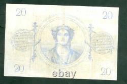 Très Rare Billet De 20f Chazal De 1873 Tb