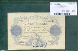 Très Rare Billet De 20f Chazal Du 27 Février 1873 Ttb