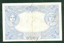 Très Rare Billet De 20f Noir Du 18 7 1904 Tb+