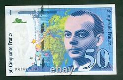 Très Rare Billet De 50 Francs St Exupery 018973232 Neuf