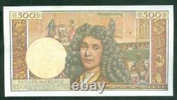Très Rare Billet De 500 Nf Molière Du 2 7 59 Ttb