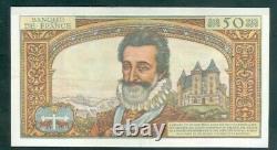 Très Rare Billet De 50nf Henry IV Du 2 7 59 Spl