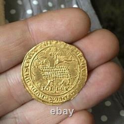 Très Rare Ecu d'or Mouton d'or JEAN II LE BON Emission du 17/01/1355