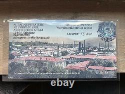 Tres Rare Encart Aubagne Billet Touristique 0 Euro 2015 39/100