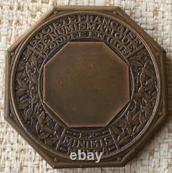 Très Rare Jeton Sct Française de Numismatique par BAZOR