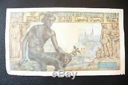 Tres Rare Liasse Bdf Billet 1000 Francs Demeter 25/06/1943! Qualitee Rare