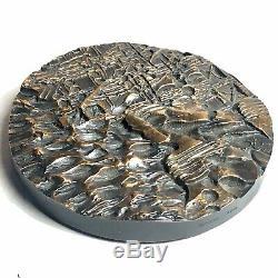 Très Rare MEDAILLE Bronze Compositeur Pierre Boulez Par Henri Georges Adam 1967