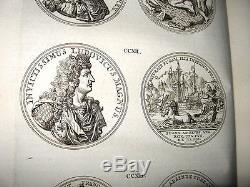 Tres Rare Medailles Des Provinces Unies Des Pays-bas 1736