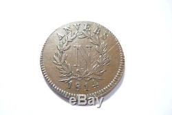 Tres Rare Monnaie 5 Cent Obsidionale Anvers 1814 V Tb/ttb