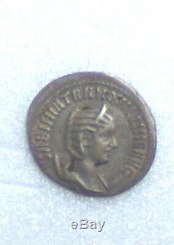Tres Rare Monnaie Romaine De Tranquilline