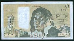 Très Rare Pascal Fauté 0 Francs