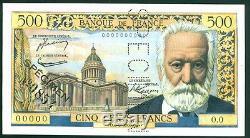 Très Rare Spécimen Du 500f Victor Hugo P. Neuf