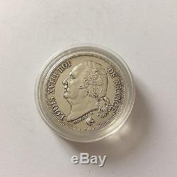 Très belle pièce RARE en argent de 2 F Louis XVIII 1816 A
