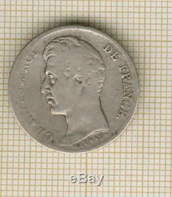 Très rare! 1 franc Charles X 1830 I Limoges, la + rare de tte la série