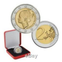 Très rare 2 EURO COMMÉMORATIVE MONACO 2007 PRINCESSE GRACE KELLY