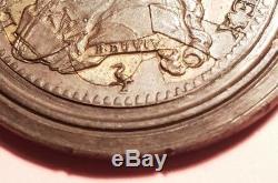 Très rare Monnaie épreuve Louis XVI en 16 morceaux pour le double Louis or 1785